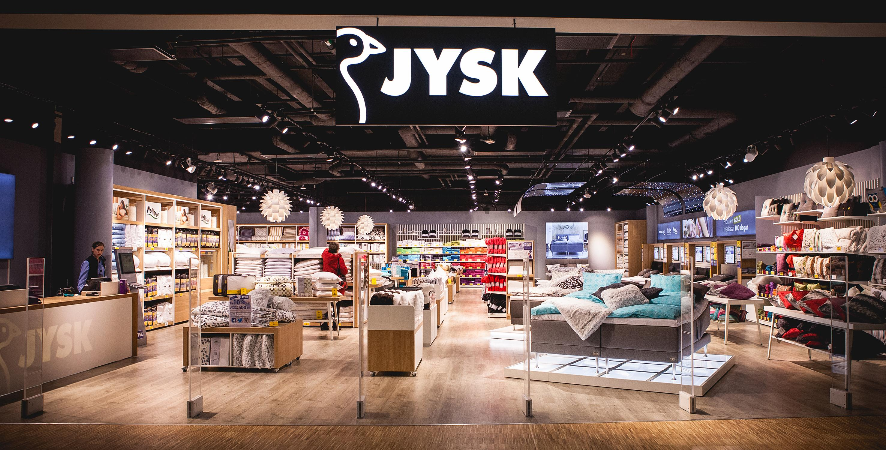 JYSK city store i Fields